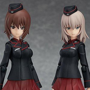 Figures & Dolls / Action Figures / Bishoujo Figures / figma Girls und Panzer der Film Maho Nishizumi & Erika Itsumi Set