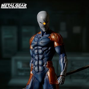Metal Gear Solid Cyborg Ninja 1/6 Scale Figure