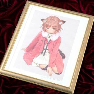 "Art Prints / Fine Art / Range Murata ""Nekomimi Girl"" Lithograph"