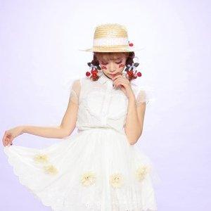J-Fashion / Hats / Swankiss Cherry Picnic Hat