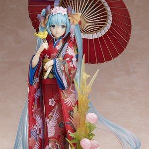 Figures & Dolls / Scale Figures / Bishoujo Figures / Character Vocal Series 01: Hatsune Miku ~Hanairogoromo~ 1/8 Scale Figure