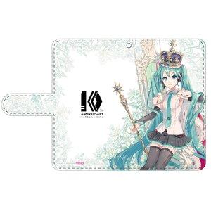 Hatsune Miku 10th Anniversary Notebook-Style Smartphone Case