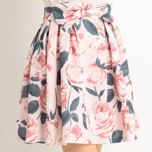 LIZ LISA Large Floral Pattern Skirt