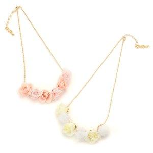 LIZ LISA Rose Tulle Necklace