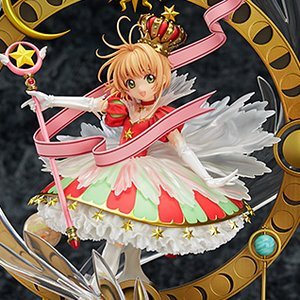 Figures & Dolls / Scale Figures / Bishoujo Figures / Cardcaptor Sakura Sakura Kinomoto: Stars Bless You 1/7 Scale Figure