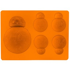 Star Wars BB-8 Flat Type Silicone Ice Tray