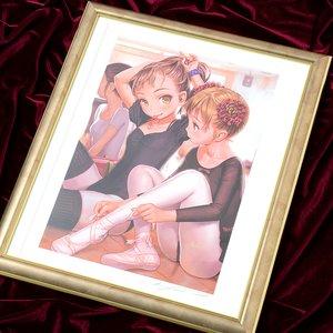 "Art Prints / Fine Art / Range Murata ""Ballet Girl"" Lithograph"