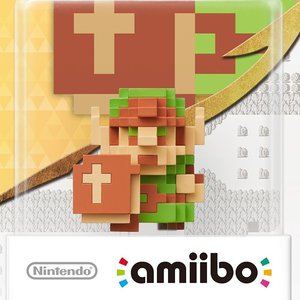 Gaming / Game Accessories / Legend of Zelda 8-Bit Link amiibo