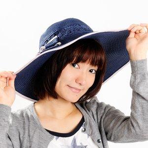 J-Fashion / Hats / Mignon Minette Wide Brimmed Hat