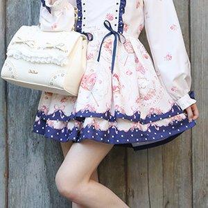 LIZ LISA Sweet Plates Sukapan Skirt