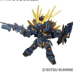 Toys & Knick-Knacks / Plastic Models / SD Gundam EX-Standard Gundam Unicorn 015: Unicorn Gundam 02 Banshee Norn (Destroy Mode)