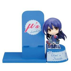 Stationery / Smartphone Accessories / Choco Sta Love Live! Umi Figure & Smartphone Stand