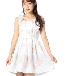 LIZ LISA Floral Castle Sundress w/ Official LIZ LISA Shop Bag