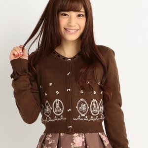 LIZ LISA Embroidered Cardigan
