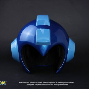 Otaku Apparel & Cosplay / Cosplay Props / Mega Man Wearable Helmet