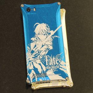 Fate/Stay Night x Gild Design iPhone 5/5s Smartphone Case - Saber