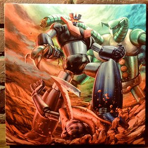 Art Prints / Art Canvas Boards / Mazinger Z Charafine Graph Print (Square)
