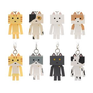 Figures & Dolls / Chibi Figures / Figure Accessories / Nyanboard Figure Strap Box Set