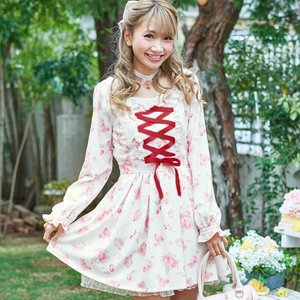 LIZ LISA Cat Cherry Dress