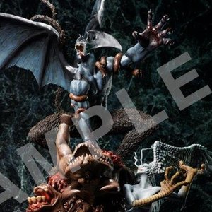 Devilman Crybaby Statue: Real Color Ver.