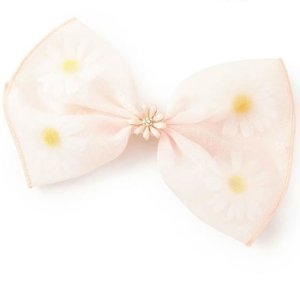 LIZ LISA Flower Ribbon Barrette