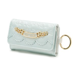 LIZ LISA Embossed Enamel Key Case