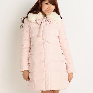 J-Fashion / Coats / LIZ LISA Down Coat w/ Faux Fur Tippet (Limited Edition)