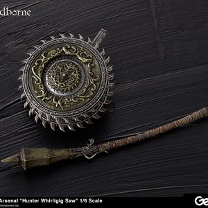 Figures & Dolls / Figure Accessories / Bloodborne Hunter's Arsenal: Whirligig Saw 1/6 Scale Weapon