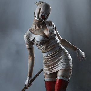 Figures & Dolls / Scale Figures / Silent Hill 2 Bubble Head Nurse Masahiro Ito Ver. 1/6 Scale Statue (Re-run)