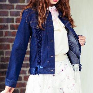 J-Fashion / Cardigans & Hoodies / LIZ LISA Laced Tulle Jean Jacket