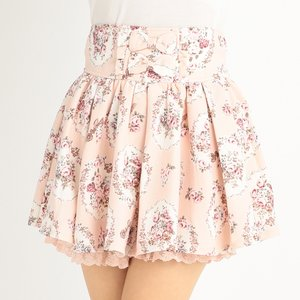 LIZ LISA 16th Anniversary Antique Rose Sukapan Skirt