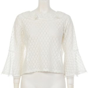 Swankiss Retro Lace Top