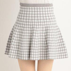 LIZ LISA Checkered Gingham Skirt