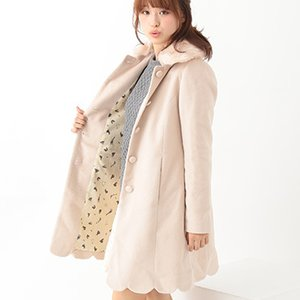 J-Fashion / Coats / earth music&ecology Scallop Coat