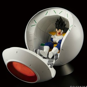 Toys & Knick-Knacks / Plastic Models / Figure-rise Mechanics Dragon Ball Z Saiyan Space Pod