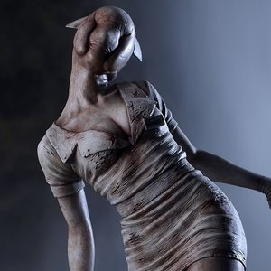 Figures & Dolls / Scale Figures / Silent Hill 2 Bubble Head Nurse 1/6 Scale Statue (Re-run)