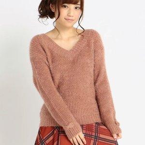 LIZ LISA V-Neck Knit Pullover