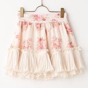 J-Fashion / Bottoms / LIZ LISA Bouquet Ribbon Sukapan Skirt