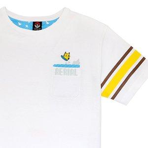 f1b7c76e Surfing Pikachu T-Shirt (White) | Tokyo Otaku Mode Shop