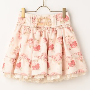 J-Fashion / Bottoms / LIZ LISA Dot Floral Sukapan Skirt