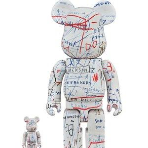 BE@RBRICK Jean-Michel Basquiat Vol. 2 100% & 400%