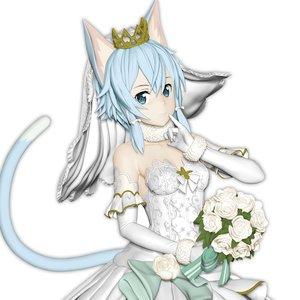 EXQ Figure Sword Art Online: Code Register Wedding Sinon