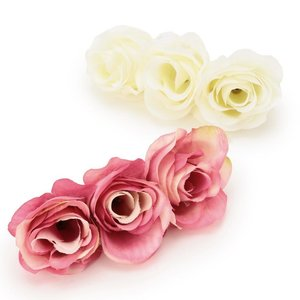 LIZ LISA 3-Rose Barrettes