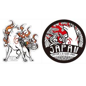 Stationery / Stickers / Capcom x B-Side Label Okami Stickers
