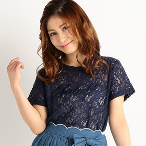 LIZ LISA Lace T-Shirt