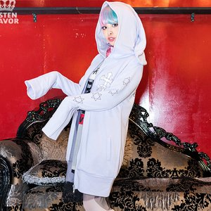 J-Fashion / Tops / LISTEN FLAVOR Magic Spell Zip-Up Hoodie