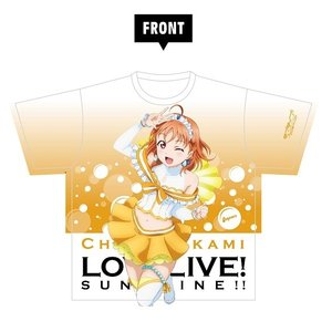 Otaku Apparel & Cosplay / Tops / Love Live! Sunshine!! Chika Takami Full Graphic T-shirt