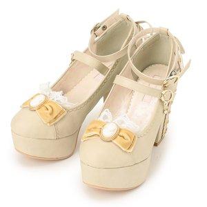 J-Fashion / Shoes / LIZ LISA Cameo Ribbon Pastel Pumps