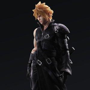 Play Arts Kai: Final Fantasy VII: Advent Children - Cloud Strife