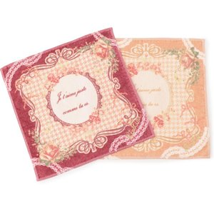 LIZ LISA Rose Border Handkerchief